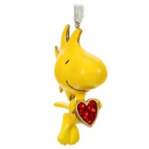 Hallmark The Peanuts Gang For the Love of Woodstock Metal Ornament Dated... - $27.43