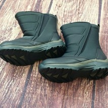 Lands End snow flurry boots, blue, sz Youth 2 or Youth 4, New - $73.50