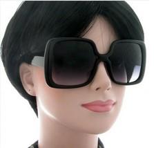 NEW WOMEN'S SQUARE FASHION DESIGNER OVERSIZE JACKIE O BIG SUNGLASSES BLA... - $7.87
