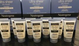 Neutrogena Ultra Sheer Zinc Dry-Touch Sunscreen Lotion SPF 85+ Travel 11/19 - $6.00