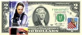 MONEY US $2 DOLLARS 2013 STAR  STAMP CANCEL MOVIES STAR ANGELINA JOLIE RARE - $295.56