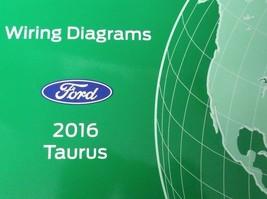 2016 Ford TAURUS Wiring Electrical Diagram Manual ETM EWD OEM EWD 2016  - $24.70