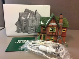 Department 56 Heritage Village Dickens' Series BROWNING COTTAGE House #5... - $41.57