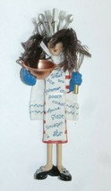 Hallmark 2004 Sue Tague Ornament QUEEN OF CUISINE Spanish  - $12.00