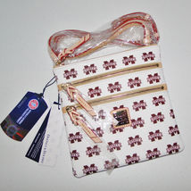 Dooney & Bourke Mississippi State Triple Zip Crossbody Bag image 8