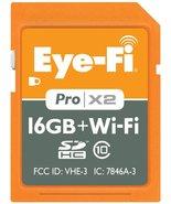 Eye-Fi 16GB Pro X2 SDHC Class 10 Wireless Flash Memory Card (EYE-FI-16PCX) - $69.95