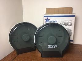 """Lot of 2 RENOWN Single JR 9"""" Jumbo Toilet Paper Tissue Dispenser REN0515... - $37.39"""