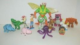 Disney Toy Story 3 figures lot Stretch Twitch Buzz Woody Hamm Chunk Butt... - $39.59