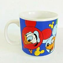 Disney Mickey Mouse Minnie Mouse Donald Duck Goofy Pluto Coffee Mug - $7.59