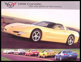 2000 Chevy Corvette Canadian Brochure - $8.54