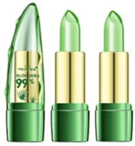 Aloe Vera Clear Jelly Lipsticks Long Lasting Nutritious Color Change Lip... - $14.95