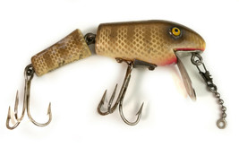 Vintage J.C. Higgins Wood Jointed Fishing Lure - $25.17