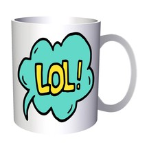 New Lol Comic Animation 11oz Mug l797 - $203,52 MXN