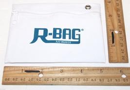 "OFFICIAL R-BAG GOLF TEE ZIPPER POUCH WHITE BAG HOLDER W/ WINDOW SLOT 4"" ... - $53,65 MXN"