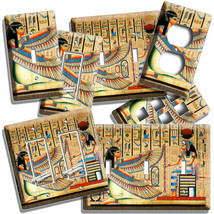 ANCIENT EGYPTIAN GODDESSES MAAT ISIS LIGHT SWITCH OUTLET PLATE WALL ART ... - $9.99+