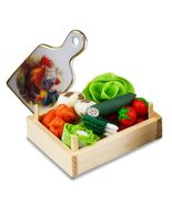 DOLLHOUSE Fresh Veggies & Cutting Board 1.815/5 Reutter Miniature 2018 - $19.45