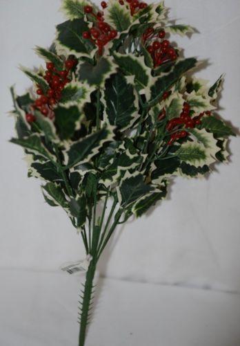 Regency International Mtx44234 Decorative Varigated Holly Bush 16 inch