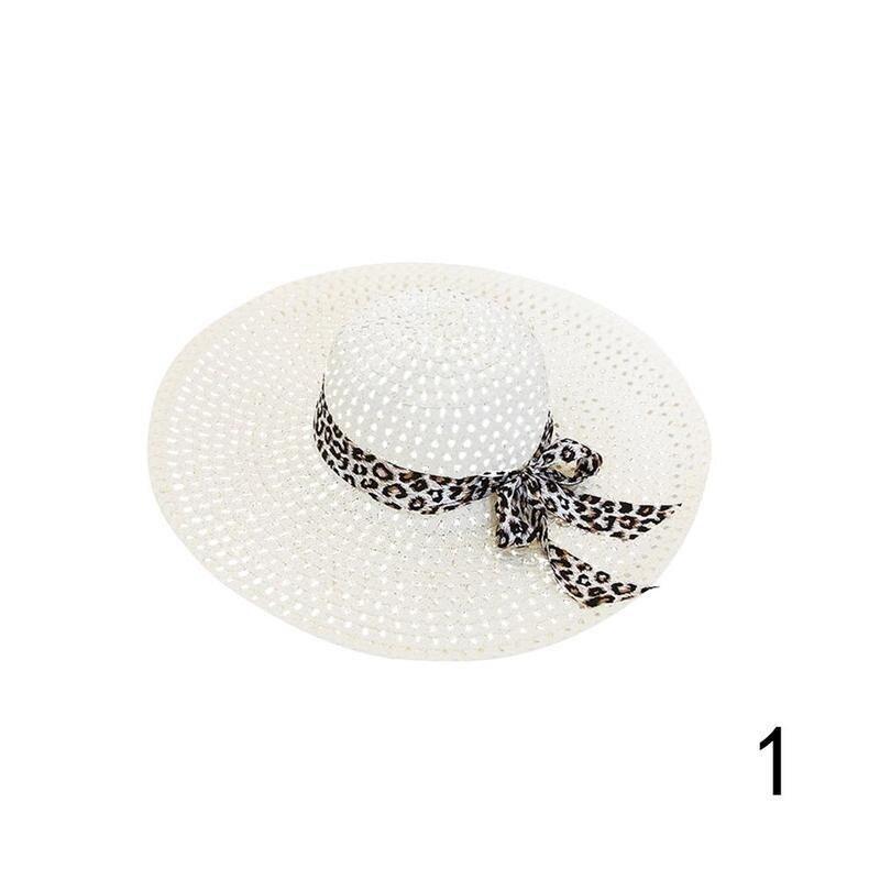 Huation 2019 New Sun Hats for Women Girls Wide Brim Floppy Straw Hat Summer Bohe