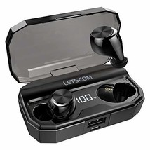 Letscom Wireless Earbuds, Bluetooth 5.0 Headphones IPX6 Sweat Proof, 80 ... - $51.12
