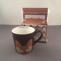 Charming Charlie's Fox Mug And Stationary Set New In Package - $21.99