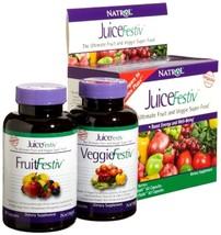 Natrol Juicefestiv Capsules Daily Fruit And Veggie Juice Festiv 120 Ct P... - $25.39