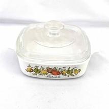 Vintage Corning Ware 1 Quart Casserole Dish A-1-B L'Echalote Spice of Li... - $45.00