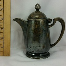 Antique Wallace Hard Soldered 8 oz 37-R Hotel Teapot Coffeepot Creamer V... - $22.76