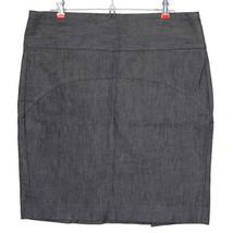 Gap Womens Jean Skirt Pencil Straight Size 12 Stretch Blue - $35.41