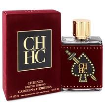 CH Kings by Carolina Herrera Eau De Parfum Spray (Limited Edition Bottle... - $85.10