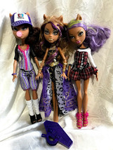Monster High Clawdeen Wolf 13 Wishes Ghoul Sports + Doll Lot - $34.99