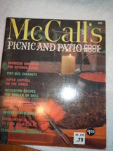 Vintage McCall's Picnic and Patio Cookbook Recipe Booklet 1965 - $4.99