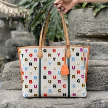 Tory Burch Perry Fil Coupé Triple-Compartment Tote - $240.00