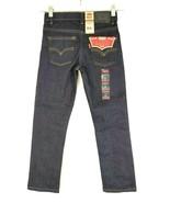 Levi's Youth NWT  511 Dark Wash Denim Stretch Slim Fit Jeans Size 7 REG - $39.60