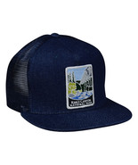 Kings Canyon National Park Trucker Hat by LET'S BE IRIE - Blue Denim Sna... - £17.26 GBP