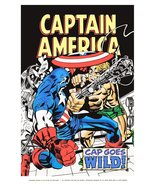 Marvelmania Captain America II 24 x 36 Reproduction Character Poster - $45.00