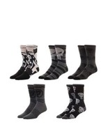 The Punisher Marvel Comics 5 Pack Casual Crew Socks Nwt - $19.99