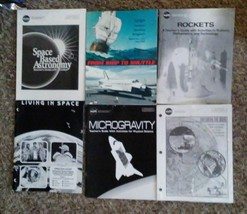6 NASA Books / Packets including Space BASED ASTRONOMY Teacher Guide - $19.99