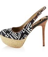 Sam Edelman Novato Aztec Tribal espadrilles heels - $44.55