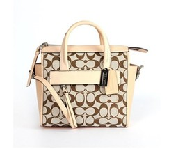 COACH Bleecker Signature Mini Riley Carryall 30168 – EUC - $150.00