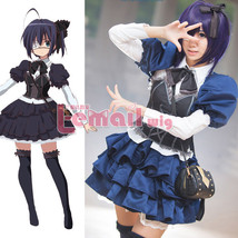 Takanashi Rikka Uniform Dress Skirt Outfit Anime Cosplay Costumes - $45.99