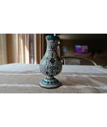 """Antique Chinese Cloisonne Vase 4.5"""" Slight Tilt - $90.09"""