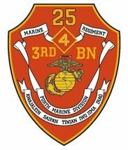 USMC 3rd Battalion 25th Marine Vinyl Sticker  - $9.89
