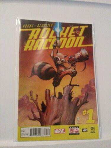 Rocket Racoon 2014 # 001 Marvel Comics Young Beaulieu