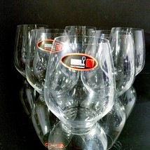 6 (Six) RIEDEL VIVANT Lead Free Crystal White Wine Tumblers- Signed - $55.09