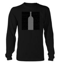 Neutral Wine #102 - Men's Long Sleeve T-Shirt - Funny Vino Pinot Grigio Noir - $23.99