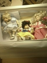 2007 RARE Marie Osmond Collection  & Tiny Tot's! Porcelain Doll w/ neckl... - $34.65