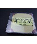 Family Tree Maker's Family Archives - Starter Bundle - PC CD-Rom FREE S/H - $14.69