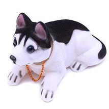 PANDA SUPERSTORE Lovely Bobbleheads Dog Toy/Car Decoration(Multicolor)