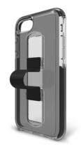 Bodyguardz Apple iPhone 6 6S 7 8 iPhone SlideVue Protective Case Smoke Black NEW image 4