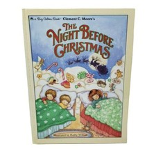 Vintage Golden The Night Before Christmas Kinder Harte Buch Clement C Moore - £16.68 GBP